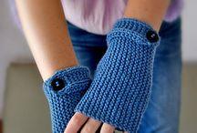 Crocheted/knit