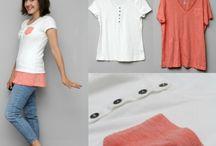 verlenging/vergroting van T-shirts