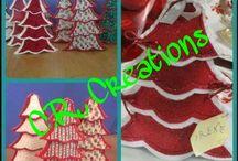 Natale feltro/pannolenci / creazioni in feltro e pannolenci per Natale