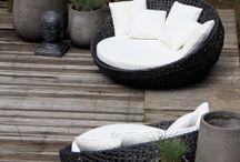 venkovní posezení x outdoor seating