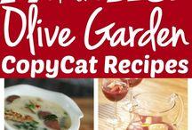 Olive garden / Recepten
