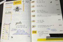 Bujo Inspiration / Ideas for bullet journal