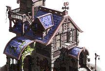fantasy tavern with SF bits