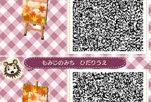 ACNL - HHD qr codes / animal crossing new leaf