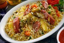 وصفات الأرز  / اطباق شهية من وصفات الارز بطريقة منال العالم