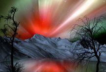 Nature - Northern Lights / Auroa Borialis /Auroa Australis