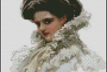 Freebie Archives / These are cross stitch patterns that are available in our freebie archives. These patterns are smaller and were made completely separate from the originals. The standard size patterns have more detail.
