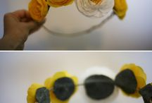 Project: Flower Crown. / by Samantha