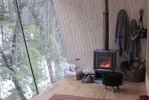 Small cabins / Kleine vakantie huisjes