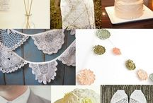 crochet + wedding