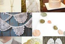 crochet + wedding