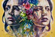 Disorders / Acryilic Painting on canvas