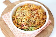 Pasta groente ovenschotel