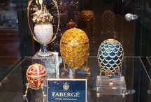 "Faberge' / Peter Carl Fabergé, also known as ""Karl Gustavovich Fabergé"" (Russian: Карл Густавович Фаберже Karl Gustavovič Faberže, May 30, 1846 – September 24, 1920), was a Russian jeweller, best known for the famous Imperial Fabergé eggs, made in the style of genuine Easter eggs, but using precious metals and gemstones rather than more mundane materials. / by Ding Marcelo"