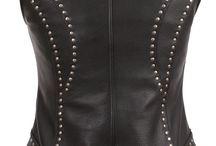 Ladies Leather Vest