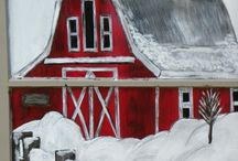 Christmas Paintings / Inspiration for Holiday Paintings