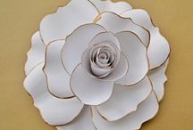 white paper decorations