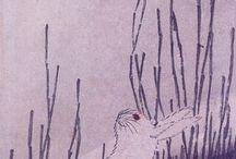 зарисовки лунный заяц