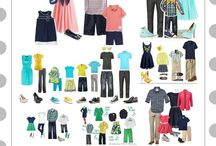 What to wear Family Summer / Summer Clothing For Family Portraits