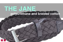 """The Jane Braided Belt / The Jane belt features a beautifully braided cotton strap and shiny nickel buckle. There are so many holes to """"buckle into"""", making it totally adjustable. Best of all, it's vegan and unisex! $35.00 www.truthbelts.com / by Truth Belts - Vegan Fashion"""