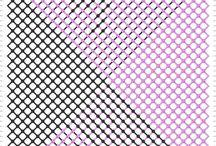 náramky - vzory