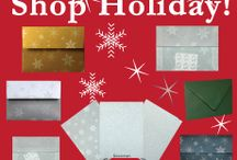 Holiday Envelope Ideas / Unique Holiday envelopes