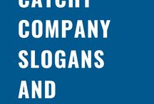 Catchy Company Slogans and Taglines