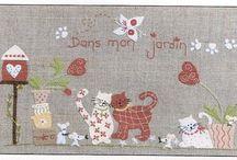 cats/quilt