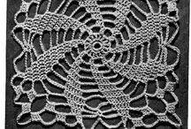 Lace crochets
