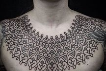 Tattoo necklace