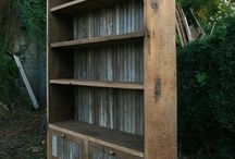 bookcases / by Jacqueline Bills