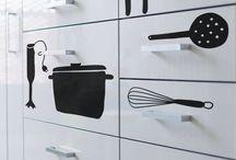 pegatinas cajón cocina