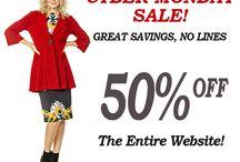 Eva Varro Cyber Monday Sale Is On 50% Off Entire Website At www.evavarro.com! / Cyber Monday