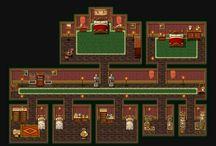 pixel arts image indoors