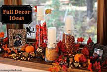 Ideas for Seasonal Decorating / Decorating for Seasons