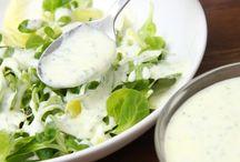 1)Receptek: saláták