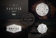 Graphism / Vintage logos and fonts