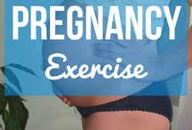 Pregnant Exercise / Staying fit is important to your health and your baby. Here are some practical and great ways to stay fit while you've got your baby bump. Make sure you consult with your physician regarding your exercises.