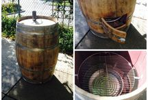 Barrels of Fun! / Some ideas of what to do with those old wine barrels.
