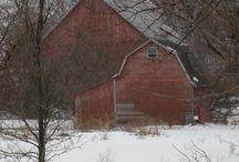 Barns / by Judy C Clark