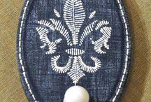 Ключницы, вешалки / декупаж, декорирование, роспись ключниц, вешалок
