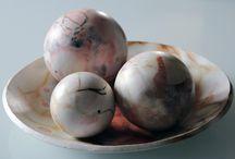 my work Denis Di Luca / Ceramica Raku, Raku dolce, saggar firing, naked.