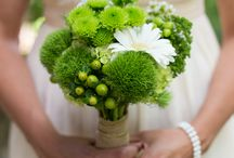 Green Bridal Bouquets