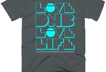 The Showcase / New Creations from Advection Wear Clothing Company. Urban Spacewear for Men and Women