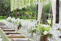 Mesas de casamentos