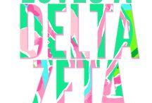 Delta Zeta / by Haleigh Madden