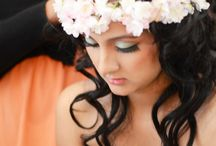 Flower Power Shoot / #bridalmakeup #airbrushmakeup #oakvilleontario # toronto #Bridal #makeupartist