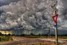 Chmury, burze i inne