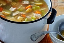 soups / by Diane Napora