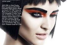 Hair / Make-Up Editorial / Inspiration for Janey Shoot